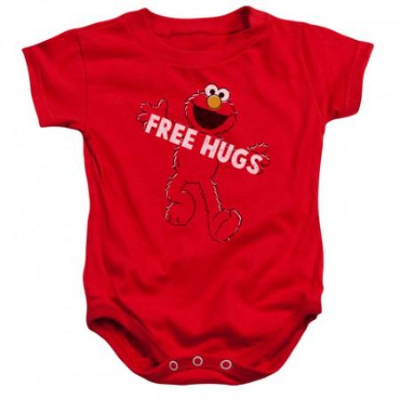 Sesame Street Elmo Free Hugs Onesie