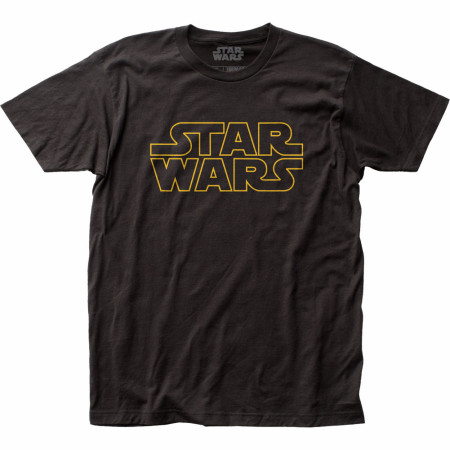 Star Wars Text Logo T-Shirt