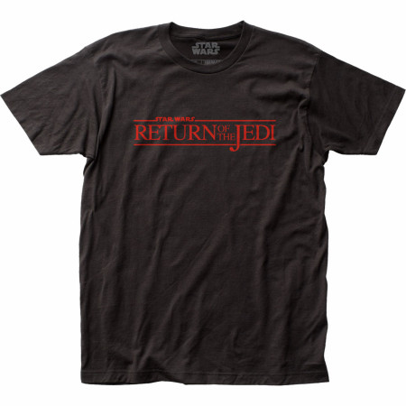 Star Wars The Return of the Jedi Title Card T-shirt