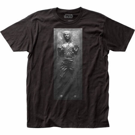 Star Wars Han Solo Frozen in Carbonite T-Shirt