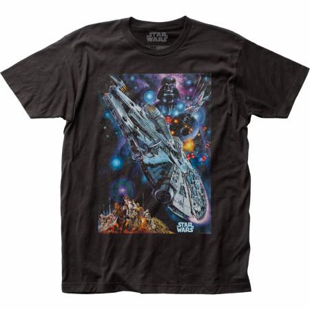 Star Wars Japanese 1978 Poster T-Shirt