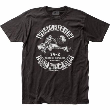 Star Wars Empire Speeder Bike Club T-Shirt