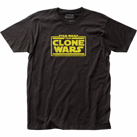 Star Wars The Clone Wars Title Screen T-Shirt