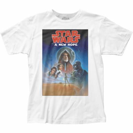 Star Wars Original Trilogy A New Hope Ep. IV Poster T-Shirt