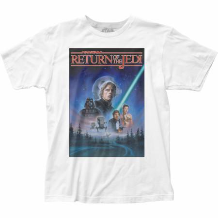 Star Wars Original Trilogy Return of the Jedi Ep. VI Poster T-Shirt