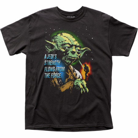Star Wars Yoda Jedi's Strength T-Shirt
