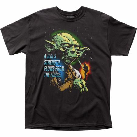Star Wars Yoda Jedi's Strength T-Shirt
