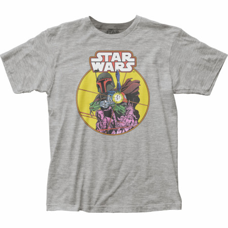Star Wars Boba Fett Retro Comic T-Shirt