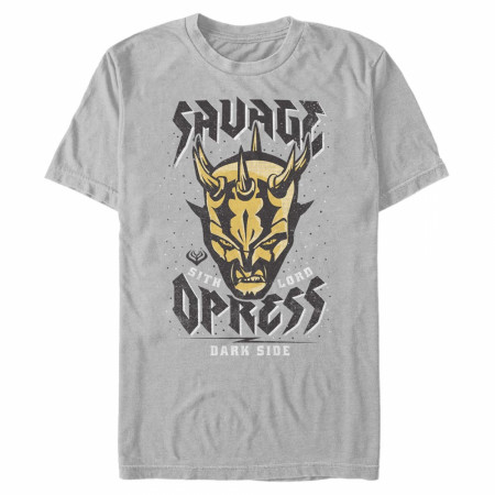 Star Wars Clone Wars Savage Sith Lord Grey T-Shirt