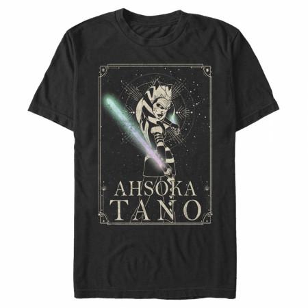 Star Wars Clone Wars Ahsoka Celestial T-Shirt