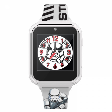 Star Wars Stormtrooper Accutime Interactive Kids Watch