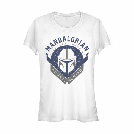 The Mandalorian Legendary Warrior Emblem Women's T-Shirt