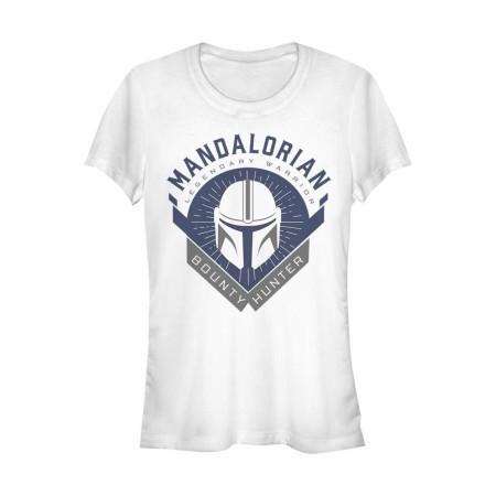 The Mandalorian Legendary Warrior Emblem Women's T-Shirt