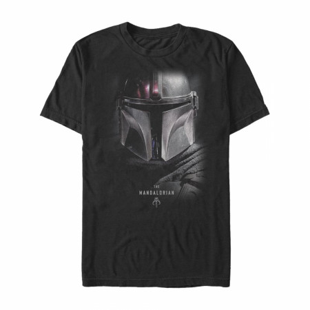 Star Wars The Mandalorian Bounty Hunter Shadow T-Shirt