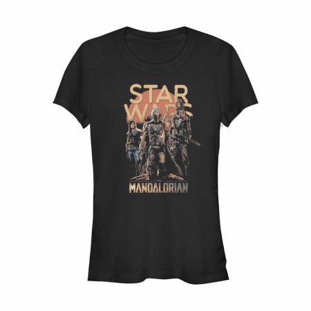 The Mandalorian Grunge Characters Women's T-Shirt