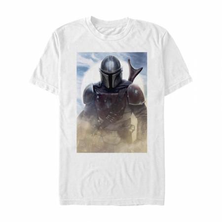 The Mandalorian Dusty Portrait T-Shirt