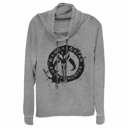 The Mandalorian Cowl Neck Women's Sweatshirt