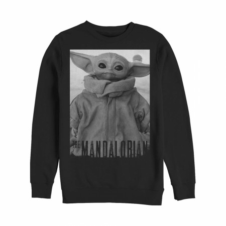 Star Wars The Mandalorian The Child Noir Sweatshirt