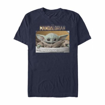 Star Wars The Mandalorian The Child Bassinet T-Shirt