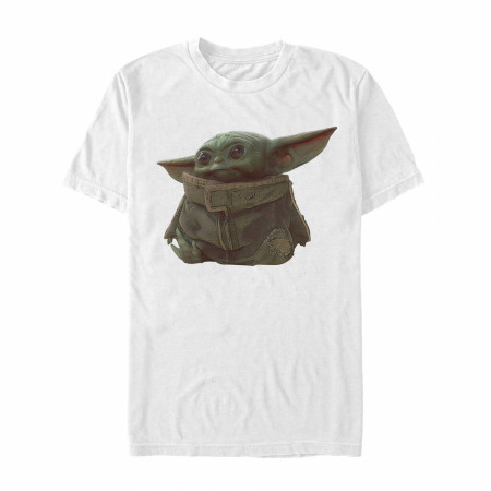 Star Wars The Mandalorian Ball Thief White T-Shirt