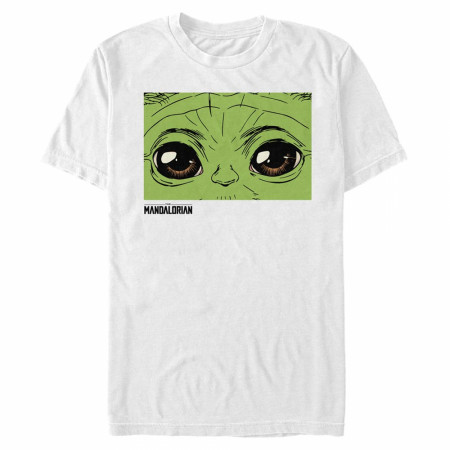The Mandalorian Grogu Eyes T-Shirt
