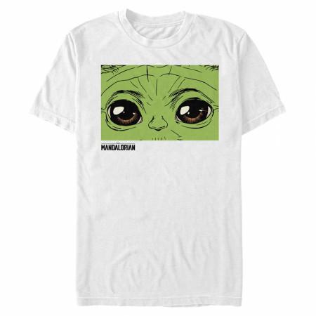 The Mandalorian Grogu Eyes T-Shirt