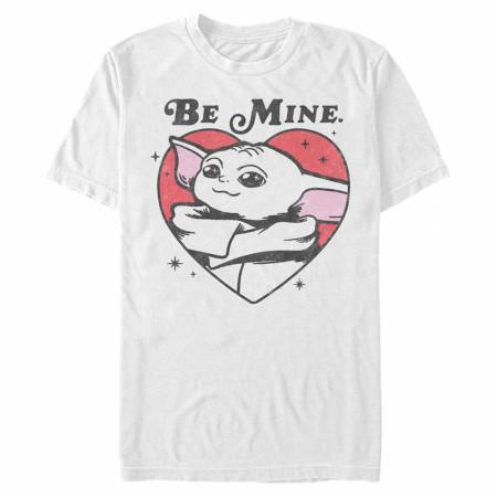 The Mandalorian Grogu Be Mine Valentine's Day T-Shirt