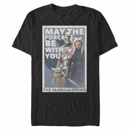 The Mandalorian May The Force Be With You T-Shirt