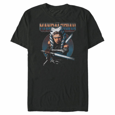 The Mandalorian Ahsoka Comic Art T-Shirt