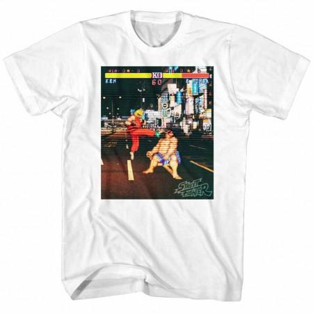 Street Fighter Real Street Fighter White TShirt