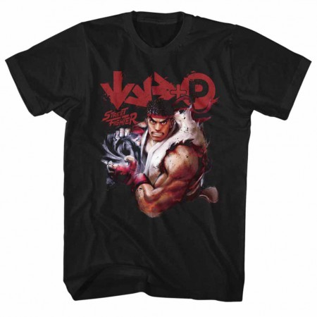 Street Fighter More Black TShirt