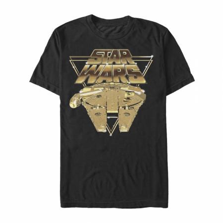 Star Wars Golden Millenium Falcon T-Shirt