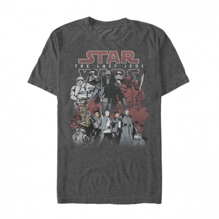 Star Wars The Last Jedi Kylo Poster Tshirt