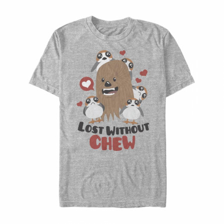 Star Wars Lost Without Chew Grey T-Shirt