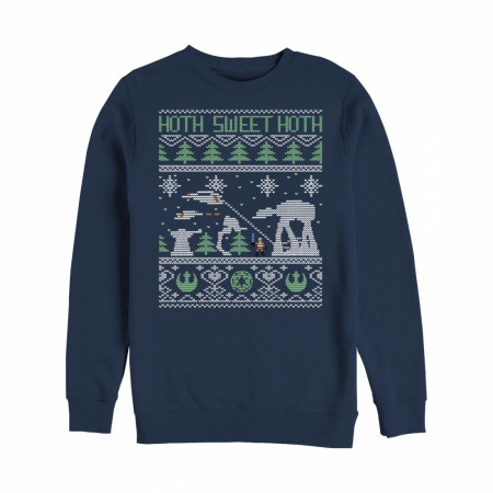 Star Wars Hoth Sweet Hoth Ugly Christmas Sweatshirt