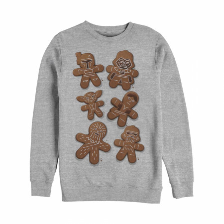 Star Wars Gingerbread Cookies Christmas Sweatshirt