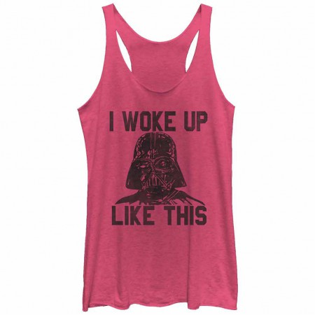Star Wars Woke Up Juniors Tank Top