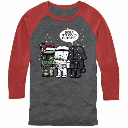 Star Wars Villains Baby Its Cold Outside Raglan Shirt