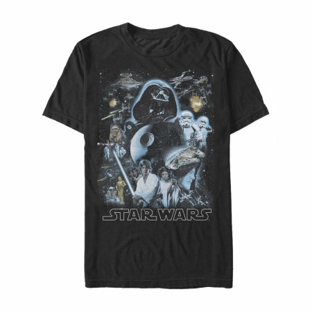 Star Wars Galaxy of the Stars T-Shirt