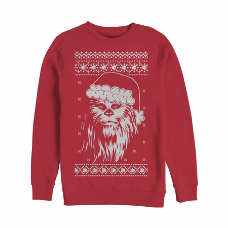 Star Wars Chewbacca Ugly Christmas Sweater Design Sweatshirt