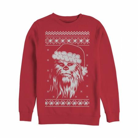 Star Wars Chewbacca Ugly Christmas Sweater Design Sweatshirt
