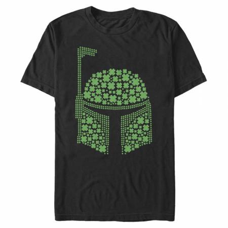 Star Wars Boba Fett Shamrocks St. Patrick's Day T-Shirt