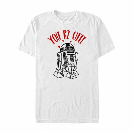 Star Wars You R2 Cute White T-Shirt