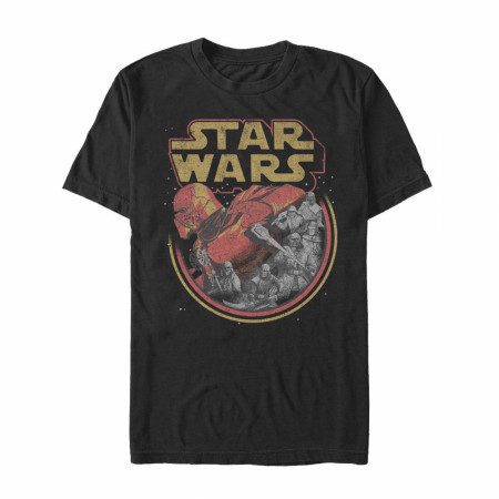 Star Wars The Rise of Skywalker Retro Villains T-Shirt