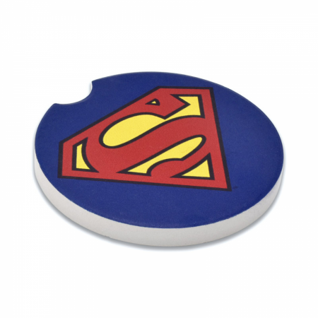 Superman Symbol Absorbent Car Coaster