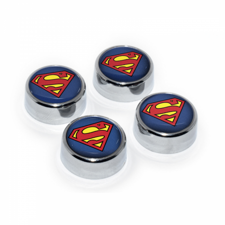 Superman Symbol License Plate Frame Screw Set