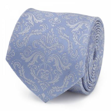 Star Wars Damask Darth Vader Blue Men's Silk Tie