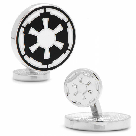 Star Wars Empire Logo Silver Cufflinks