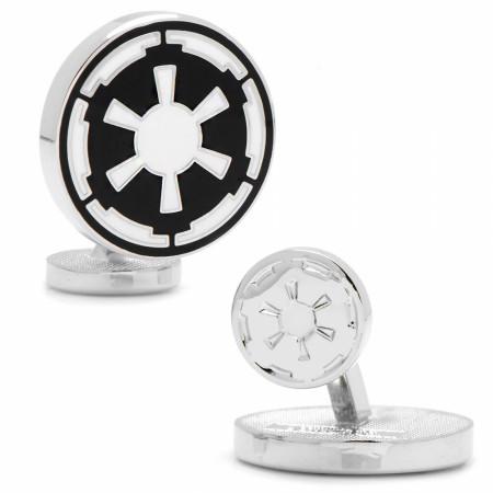 Star Wars Empire Logo Silver Cufflinks