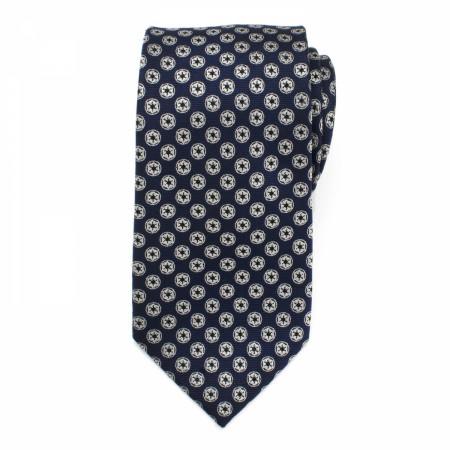 Star Wars Imperial Symbol Men's Navy Silk Tie
